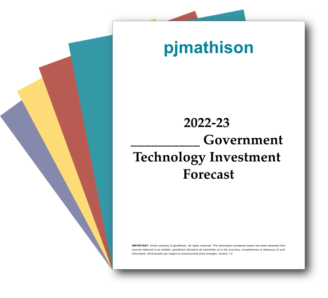 Government Technology Forecasts by pjmathison